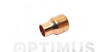 Conducción Cobre y aleacion - REDUCCION COBRE H-H 18MM-15MM 1U