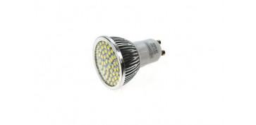 Novedades - BOMBILLA LED DICROICA 60SMD 5W GU10-LUZ CALIDA (3300K)