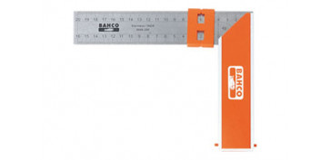 Otros instrumentos de medida - ESCUADRA CARPINTERO BAHCO 9048-250 MM