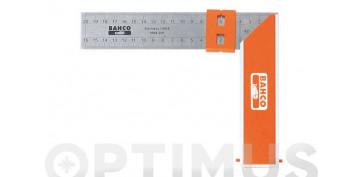 Otros instrumentos de medida - ESCUADRA CARPINTERO BAHCO 9048-300 MM