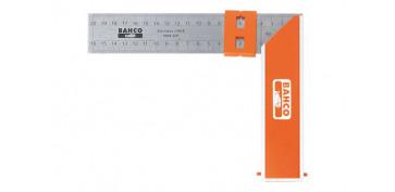 Otros instrumentos de medida - ESCUADRA CARPINTERO BAHCO 9048-400 MM