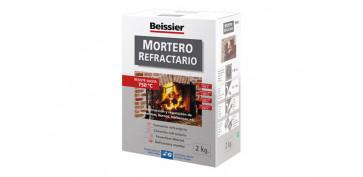 Masillas y siliconas - MORTERO REFRACTARIO EN POLVO 768-2 KG