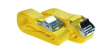 Sujecion de cargas - TRINQUETE AMARRE DRAKO (2 UN) 25MM X 3 M
