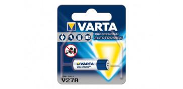 Pilas y baterías - PILA ALCALINA BLX1 V27A 12V