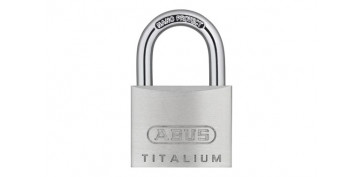 CANDADO TITALIUM 64TI ARCO NORMAL BLISTER 2U 40MM LLAVES IGUALES