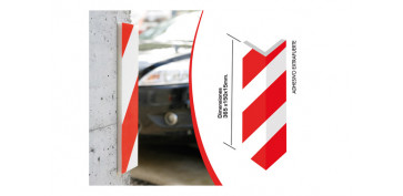 PROTECTOR CANTONERA PARKING 365 X 150 X 15 MM