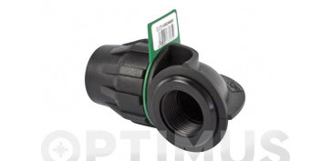 Conduccion Polietileno - CODO 90º HEMBRA FITTING 32MM-1\