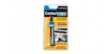 Adhesivos - ADHESIVO CONTACTCEYS TRANSPARENTE BLISTER GRANDE