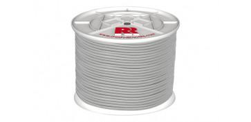 Cuerdas y cintas - CUERDA ELASTICA LATEX BLANCA 6MM-200 MT
