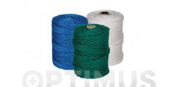 Cuerdas y cintas - CUERDA PE CABLEADA 4C 5MM 20 MT BLANCO