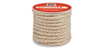 Cuerdas y cintas - CUERDA SISAL CABLEADA 4C 8MM 25MT
