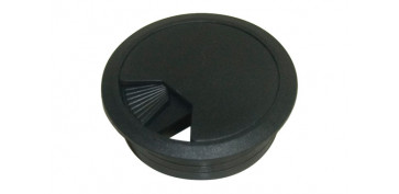 TAPA PASACABLE 60 MM (2 PZ) NEGRO
