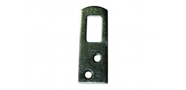 PLACA COLGADOR H.ZINC (4 PZ) 60 MM