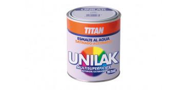 Esmaltes - ESMALTE UNILAK SATINADO 750 ML BLANCO