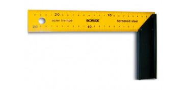 Otros instrumentos de medida - ESCUADRA CARPINTERO 200 X 125 MM