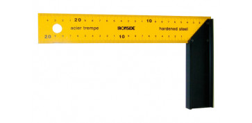 Otros instrumentos de medida - ESCUADRA CARPINTERO 300 X 135 MM