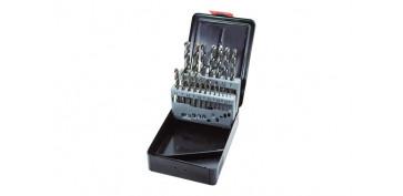 Juegos y kits para herramientas - BROCAS PARA METAL HSS COBALTO, 19 PIEZAS Ø DE 1 A 10 MM. DE ½ EN ½ MM.