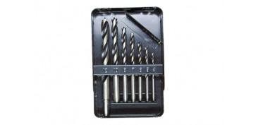 Juegos y kits para herramientas - BROCAS MADERA 7 PIEZAS (Ø 4-5-6-7-8-10-12)