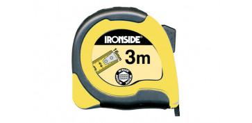 Medidores de distancias - FLEXOMETRO ABS / BICOMPONENTE 3 M X 16 MM. CON FRENO, CINTA IMPRESA A DOS CARAS