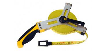 Medidores de distancias - CINTA FIBRA BIMAT CON BASTIDOR 30 MT