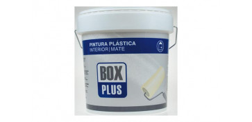 Pintura para paredes, techos y suelo - PINTURA PLASTICA BLANCA MATE INTERIOR 5 KG