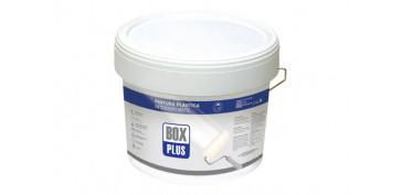 Pintura para paredes, techos y suelo - PINTURA PLASTICA BLANCA MATE INTERIOR 12 KG