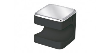 Domotica - LINTERNA SILICONA LED CUBY 5CM 1,5W NEGRO