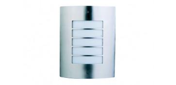 Iluminacion vivienda - APLIQUE ACERO INOX SURREY 1X60W E-27