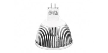 BOMBILLA LED DICROICA 4X1WGU5,3 LUZ CALIDA (3000K)