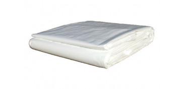 Toldos y plasticos protectores - TOLDO POLIETILENO STANDARD 90GR 10 X 15 M AZUL / VERDE