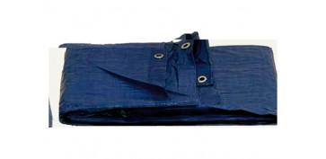 Toldos y plasticos protectores - TOLDO POLIETILENO STANDARD 120GR 5 X8 M AZUL