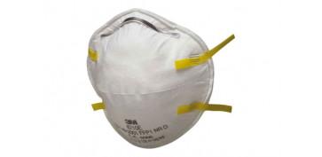 Proteccion de la cabeza - MASCARILLA MOLDEADA FFP1 S/VALVULA 8710 SERIE8000