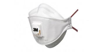 Proteccion de la cabeza - MASCARILLA PLEGADA FFP2 C/VALVULA 9322+ SERIE AURA+