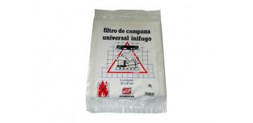 Ventiladores y extractores - FILTRO CAMPANA UNIVERSAL PAPEL 60 CM