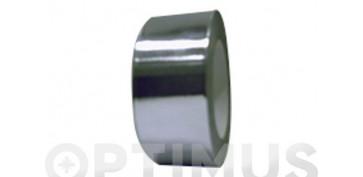 Adhesivos - CINTA ALUMINIO 30 MICRAS 1630-50MM X50MT