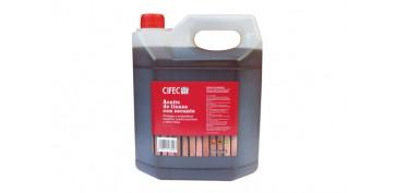 Proteccion y tratamiento para madera - ACEITE LINAZA CON SECANTE CIFEC5 LITROS