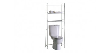 Mobiliario de baño - ESTANTERIA WC CROMO 466