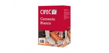 Masillas y siliconas - CEMENTO BLANCO 1,5 KG
