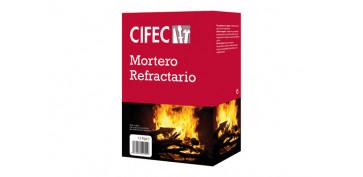 Masillas y siliconas - MORTERO REFRACTARIO 1,5 KG