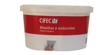 Masillas y siliconas - MASILLA LIGERA (PLUMA) EN PASTA 235 ML