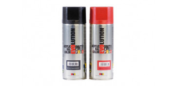 Aerosol o spray - PINTURA ACRILICA METALIZADA SPRAY 520 CC ROJO
