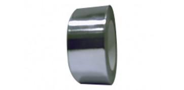 Adhesivos - CINTA ALUMINIO 30 MICRAS 1630-50MM X10MT