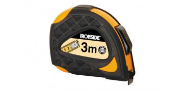 Medidores de distancias - FLEXOMETRO 3 M X 16 MM CON AUTO FRENO ANTI CHOQUE, CINTA IMPRESA DOS CARAS