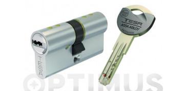 Cerraduras - CILINDRO TX80 NIQUEL LLAVE PUNTOS 30-40