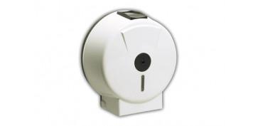 Accesorios para el baño - PORTARROLLO WC INDUSTRIAL EJE 45 MM PLASTICO BLANCO