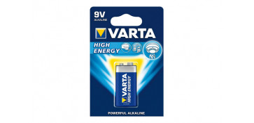 PILA ALCALINA HIGH ENERGY 6LR61 BL.1
