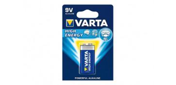 Pilas y baterías - PILA ALCALINA HIGH ENERGY 6LR61 BL.1
