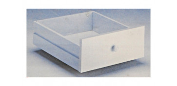Cajas y baules - CAJON ORGANIZADOR 60 CM BLANCO (2UN) 2 UNIDADES