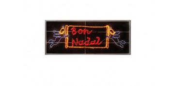 BON NADAL DECORADO FLEXILIGHT 15OX80 CM