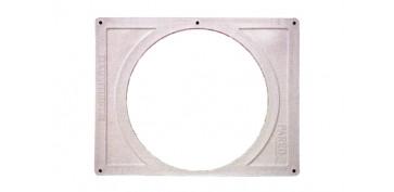 Ventiladores y extractores - PLANTILLA EMBELLECEDOR INTERIOR 18X15 C